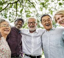 Photo: group of retirees smiling