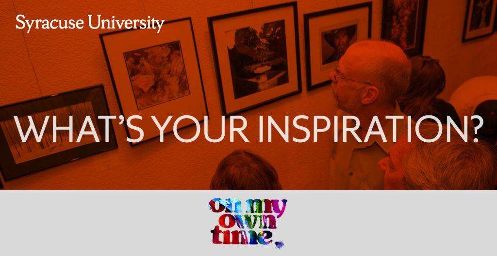 Graphic: On My Own Time: What's Your Inspiration?