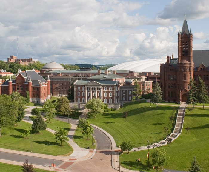 Photo: Spring/Summer Crouse, Maxwell, Hall Of Languages, Newhouse III Exterior