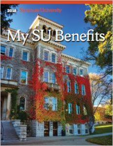 Front Cover of My SU Benefits Booklet