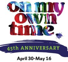 Logo: on my own time 2018