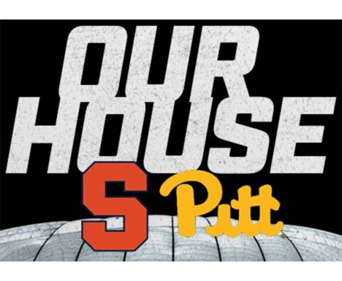 Our house image. Syracuse University football versus Pittsburgh