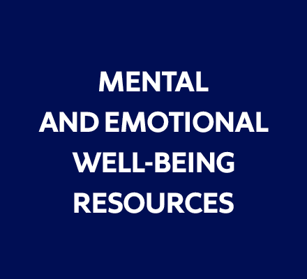 Link to mental and emotional well-being resources