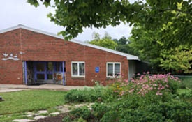 Front outside view of EECCC